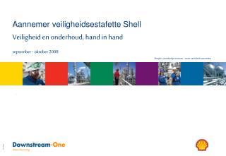 Aannemer veiligheidsestafette Shell