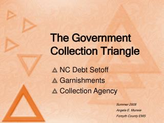 The Government Collection Triangle