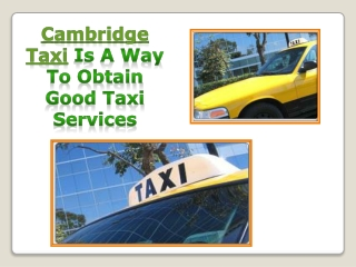 CALL At 617-649-7000 And Get fast Cambridge Cab service