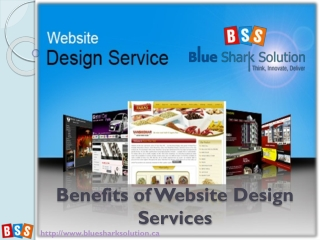 Benefits of Website design services