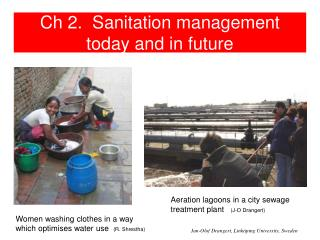 Ch 2. Sanitation management today and in future