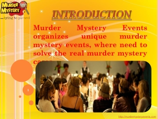Murder Mystery Nights