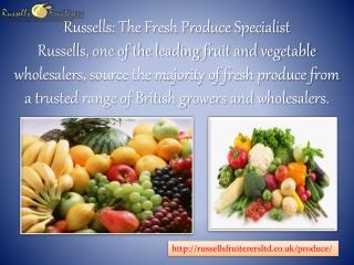 fruit and veg wholesale