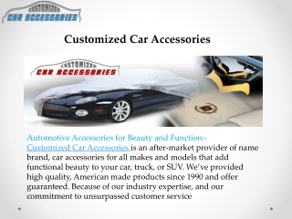 Make Your Car Vehicle Finer with Cargo Liners by caraccessor