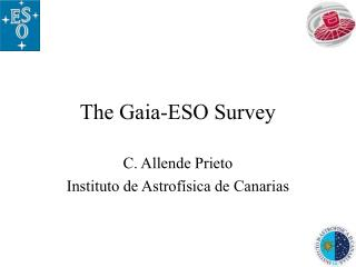The Gaia-ESO Survey