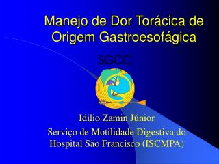 Manejo de Dor Torácica de Origem Gastroesofágica