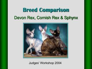 Breed Comparison