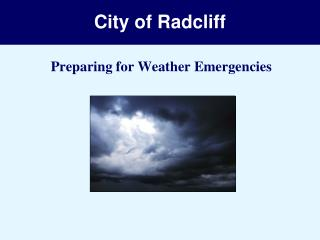 City of Radcliff