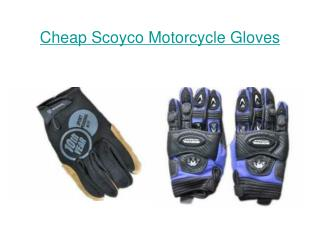 Discount Scoyco Motorcycle Gloves