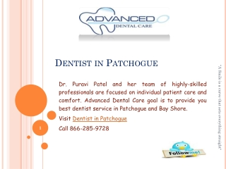 Total Dental Solution at Advance Dental Care
