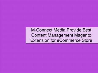 M-Connect Media Sorted Most Popular Magento Content Manageme