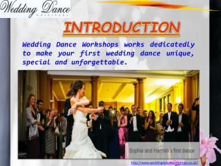 Wedding Dance Lessons London