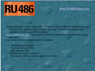 Medical Abortion Non-Surgical los angeles