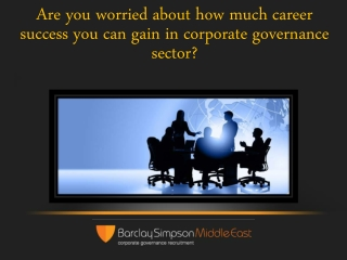 Are you worried about how much career success you can gain