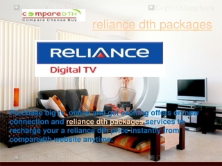 reliance dth packages