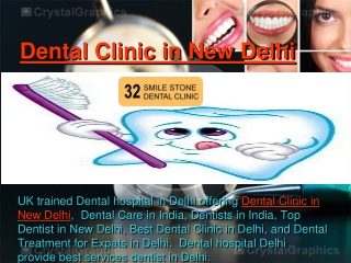 Dental Clinic in New Delhi