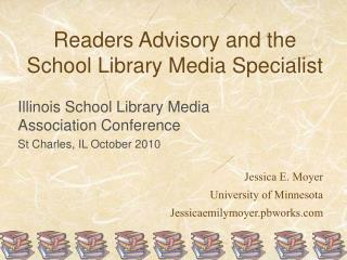 Readers Advisory and the School Library Media Specialist