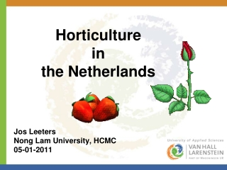 lecture 1 introduction to tropical horticulture