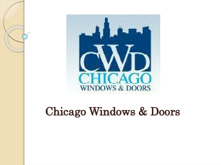 Best window replacement companies chicago