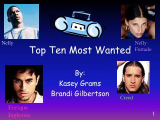Top Ten Most Wanted