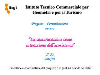 Istituto Tecnico Commerciale per Geometri e per il Turismo