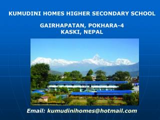 KUMUDINI HOMES HIGHER SECONDARY SCHOOL