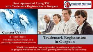 Trademark Registration in Gurgaon