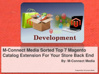 M-Connect Media Collect Most Popular Magento Catalog Module