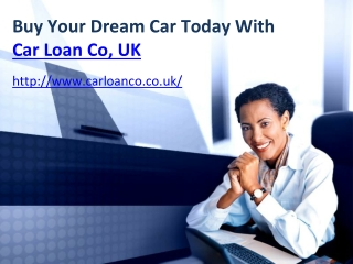 Car Loan Provider in UK