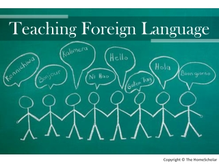 Teaching Foreign Language