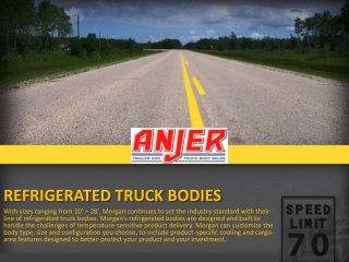 Dry Freight Refrigerated Truck Bodies