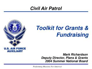 Toolkit for Grants &  Fundraising