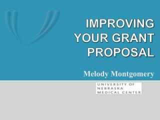 Improving your grant proposal