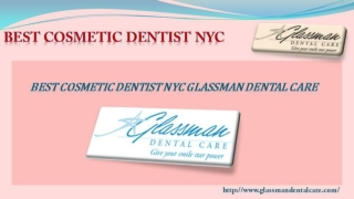 Best Cosmetic Dentist NYC