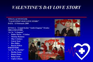 VALENTINE'S DAY LOVE STORY