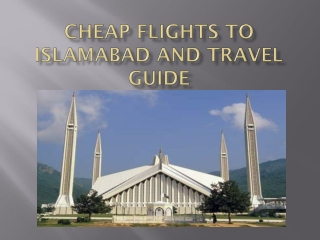 Islamabad Travel
