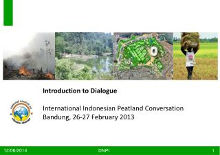 Introduction to Dialogue International Indonesian  Peatland  Conversation Bandung, 26-27 February 2013