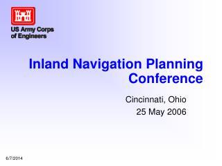 Inland Navigation Planning Conference