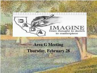 Area G Meeting Thursday, February 28