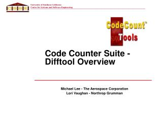 Code Counter Suite - Difftool Overview