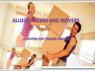 PACKING AND MOVING COMPANY IN INDIA