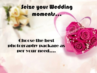 Resize your Wedding moments