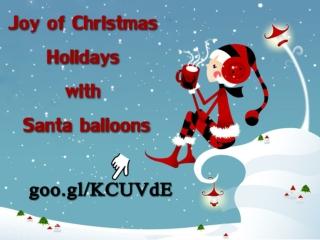 Christmas Balloon Arrangements