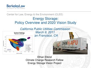 Energy Storage:  Policy Overview and 2020 Vision Study