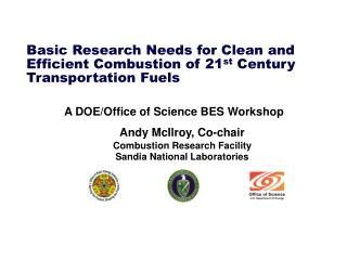 Basic Research Needs for Clean and Efficient Combustion of 21 st Century Transportation Fuels