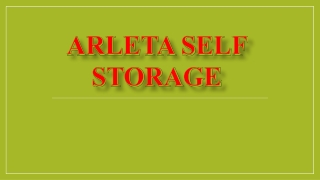 Arleta self storage