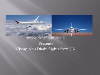 Abu Dhabi flights information