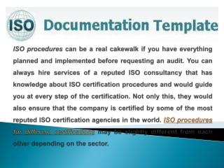 ISO Procedures