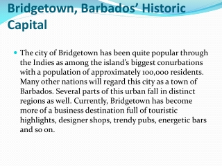 Find flights to Bridgetown