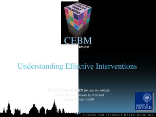Understanding  Effective Interventions